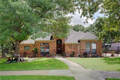 Azle Single Family Home Active Option Contract: 424 Windjammer Lane