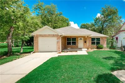 Dallas Single Family Home Active Option Contract: 3714 Vilbig Road