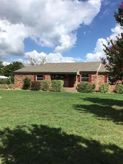 Azle Single Family Home Active Option Contract: 12510 Liberty School Road