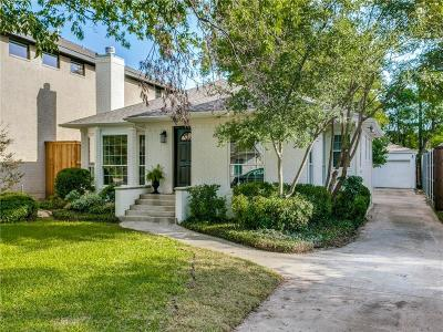 Dallas Single Family Home For Sale: 4512 W Amherst Avenue
