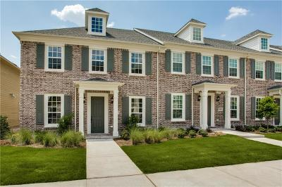 Allen Townhouse For Sale: 1000 Marian Drive