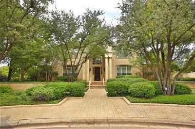 Abilene Single Family Home For Sale: 3 Glen Abbey Court