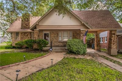 Fort Worth Single Family Home For Sale: 1707 Thomas Place
