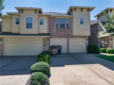 Frisco Townhouse For Sale: 9827 Wake Bridge Drive