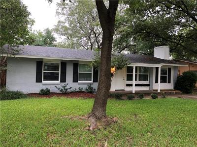 Farmers Branch Single Family Home For Sale: 3316 Portlock Drive