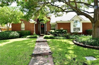 Irving Single Family Home Active Option Contract: 320 Andre Drive