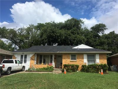 Dallas Single Family Home For Sale: 3129 San Marcus Avenue