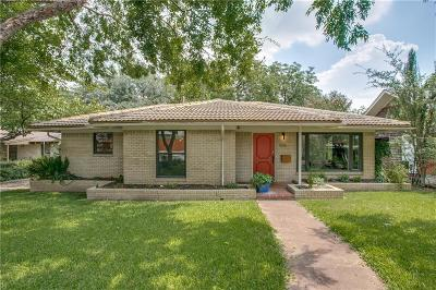 Dallas Single Family Home For Sale: 1506 Sylvan Avenue