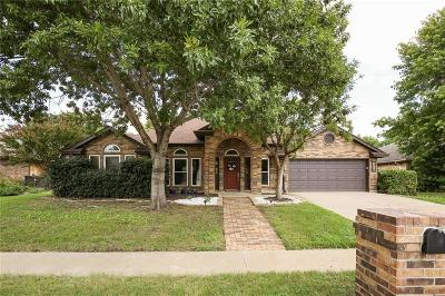 Keller Single Family Home Active Option Contract: 697 Opelousas Court N