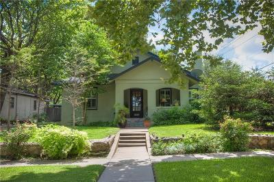 Fort Worth Single Family Home For Sale: 5337 Collinwood Avenue