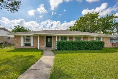 Mesquite Single Family Home For Sale: 1401 Mount Vernon Drive