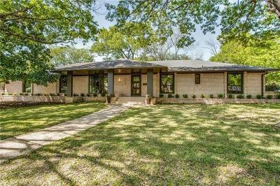 Dallas Single Family Home For Sale: 4227 Hockaday Drive