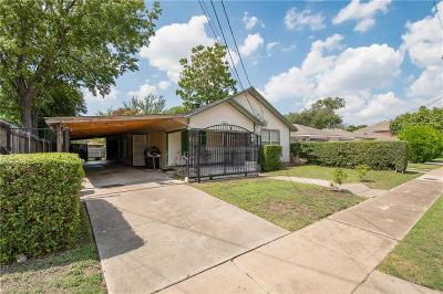 Single Family Home For Sale: 6835 Tyree Street