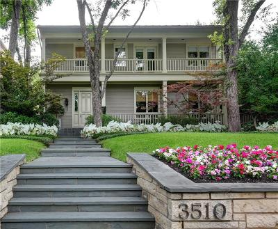 Highland Park Single Family Home For Sale: 3510 Gillon Avenue