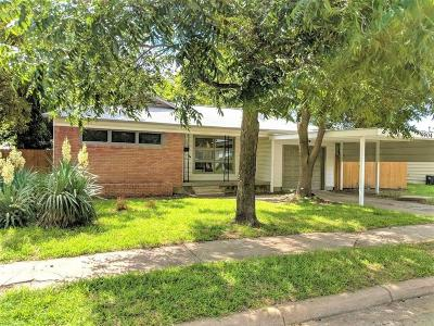 Haltom City Single Family Home Active Option Contract: 4904 Stephanie Drive