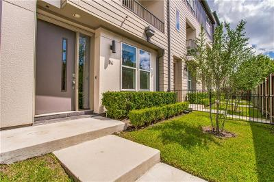 Dallas Townhouse For Sale: 4211 Rawlins Street #94