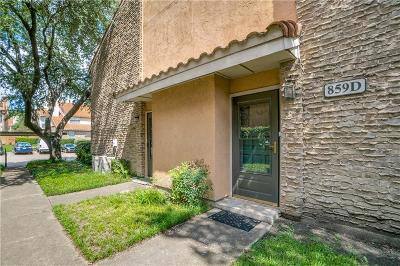 Richardson Condo For Sale: 859 Dublin Drive #D