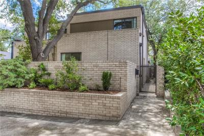 Fort Worth Single Family Home For Sale: 4715 Lafayette Avenue
