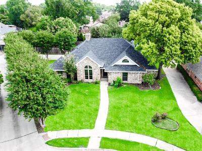 Plano Single Family Home Active Option Contract: 3508 Hilltop Lane