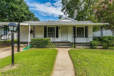 Haltom City Single Family Home Active Option Contract: 4033 Kearby Street