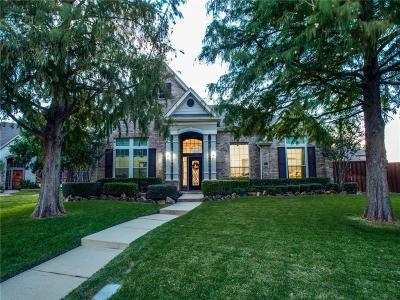 The Colony Single Family Home Active Option Contract: 3817 Leeward Circle