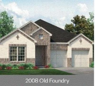 Weatherford Single Family Home For Sale: 2008 Old Foundry Road