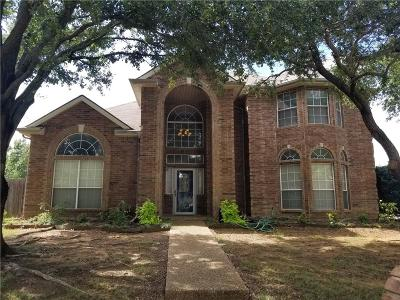 North Richland Hills Single Family Home Active Option Contract: 7801 Calvert Lane