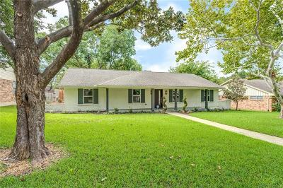 Dallas Single Family Home For Sale: 7712 La Cosa Drive