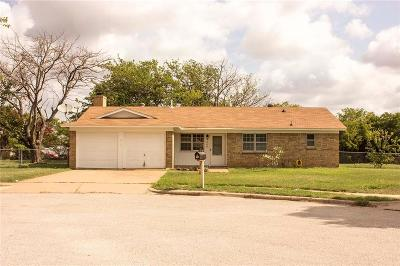 Crowley Single Family Home Active Option Contract: 308 Prairie View Court