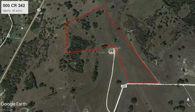 Hico Residential Lots & Land For Sale: County Road 242