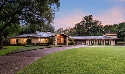 Dallas Single Family Home For Sale: 3735 West Bay Circle