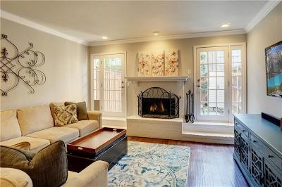 Dallas Townhouse For Sale: 4102 Bowser Avenue #5
