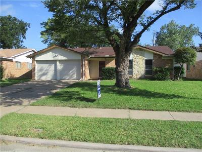 Irving Single Family Home Active Option Contract: 3825 Finley Road