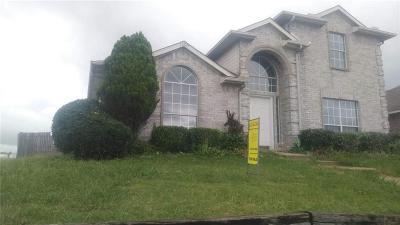 Mesquite Single Family Home For Sale: 1020 Cedarcrest Drive