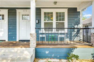 Dallas Multi Family Home For Sale: 818 N Beckley Avenue