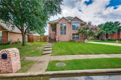 Carrollton Single Family Home For Sale: 1713 Bel Air Drive