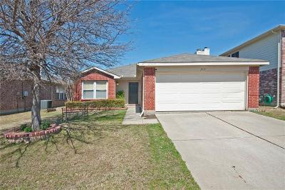 Little Elm Single Family Home Active Option Contract: 1571 Thornhill Lane