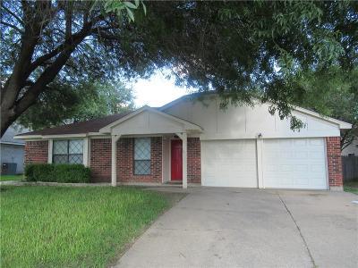 Arlington Single Family Home For Sale: 3307 Carter Drive