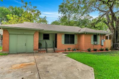 Mesquite Single Family Home Active Option Contract: 1112 Ervin Lane