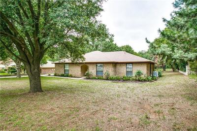 Keller Single Family Home Active Option Contract: 1121 Melissa Drive