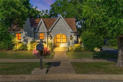 Cleburne Single Family Home For Sale: 207 Sunset Drive