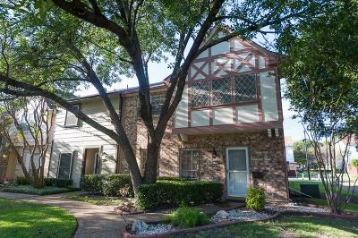 Garland Townhouse For Sale: 619 Trailwood Court