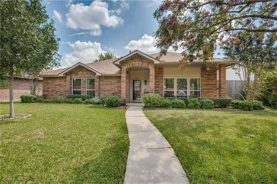 Carrollton Single Family Home Active Option Contract: 4218 Harvest Hill Road