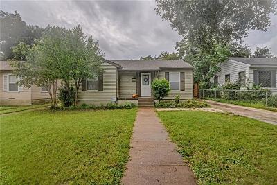 Dallas Single Family Home For Sale: 1802 Berkley Avenue