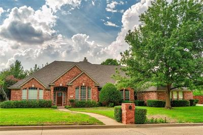 Colleyville Single Family Home Active Option Contract: 6106 Highland Hills Lane