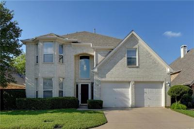 Hurst, Euless, Bedford Single Family Home For Sale: 201 Arbor Park Drive