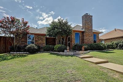 Carrollton Single Family Home For Sale: 1502 Bellflower Drive