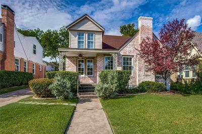 Dallas Single Family Home For Sale: 407 Newell Avenue