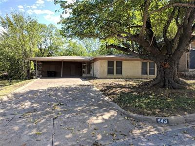 Fort Worth Single Family Home For Sale: 5421 Waltham Avenue