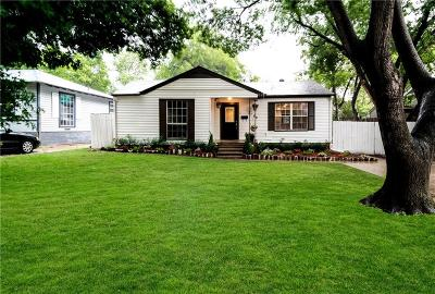 Dallas Single Family Home For Sale: 3850 Davila Drive